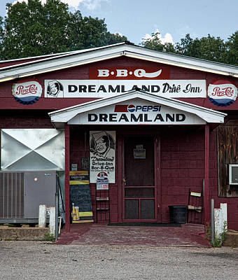 B B Q Dreamland - Tuscaloosa Alabama Poster by Mountain Dreams