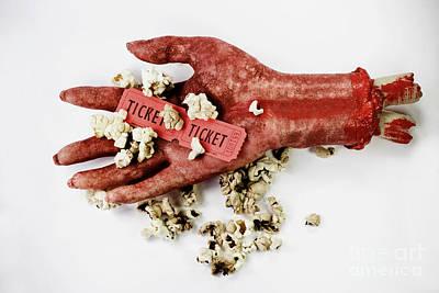 B Grade Horror Film Poster by Jorgo Photography - Wall Art Gallery