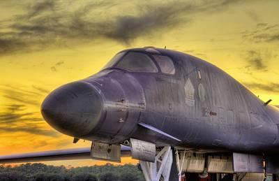 B-1b Heavy Poster by JC Findley