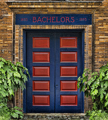 Bachelors Barge Club Poster by Stephen Stookey