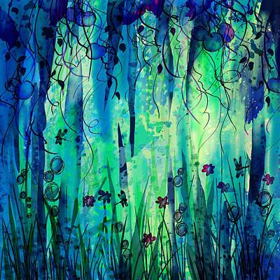 Backyard Dreamer Poster by Rachel Christine Nowicki