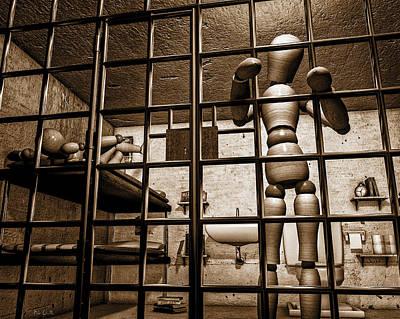 Bail Denied  Poster by Bob Orsillo
