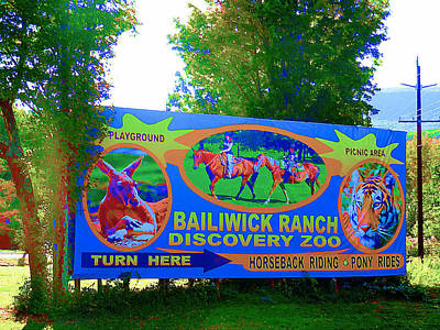 Bailiwick Ranch 4 Poster by Lanjee Chee