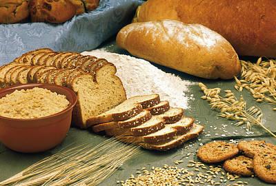 Baking Bread Poster by PhotographyAssociates