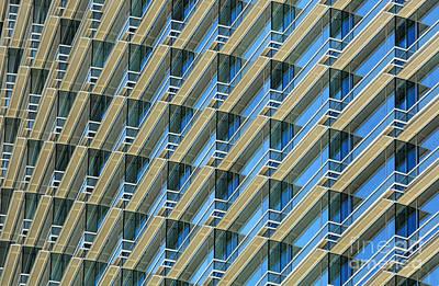 Balconies Poster by Dan Holm