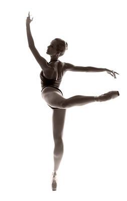 Ballerina Grace Poster by Steve Williams