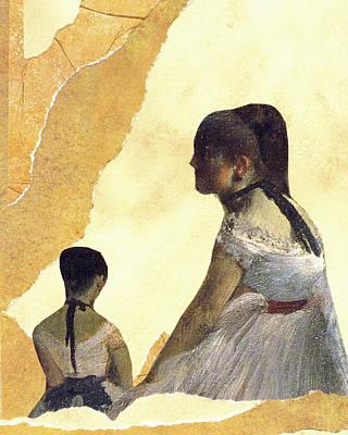 Ballerinas Waiting Poster by John Vincent Palozzi