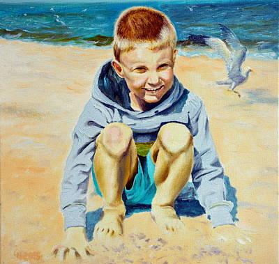 Baltic Beach Poster by Henryk Gorecki