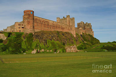 Bamburgh Castle Poster by Stephen Smith