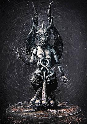 Baphomet Poster by Taylan Soyturk