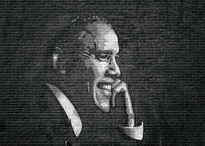 Barack Obama Poster by Steven Michael