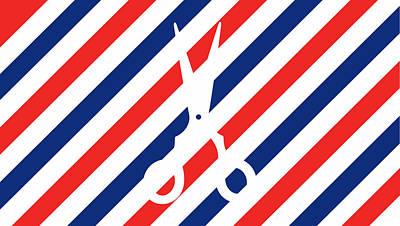 Barber Cut Poster by Julia Jasiczak
