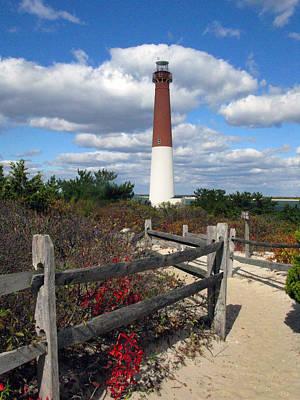 Barnegat New Jersey Light House Poster by Richard Singleton