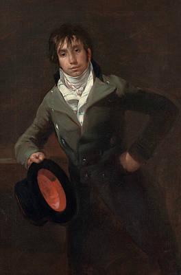 Bartolome Sureda Y Miserol Poster by Francisco Goya