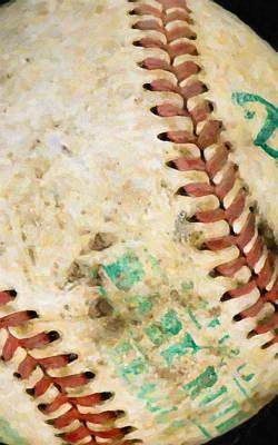 Baseball Poster by Lanjee Chee