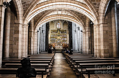 Basilica Of San Isidoro De Leon - Interior Poster by RicardMN Photography