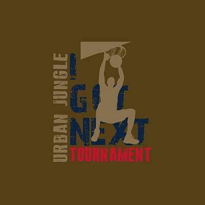 Basketball I Got Next 4 Poster by Joe Hamilton