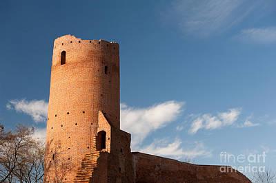Bastille Of Czersk Castle After Renovation Poster by Arletta Cwalina