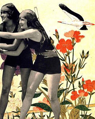 Bathing Beauties 1 Poster by John Vincent Palozzi