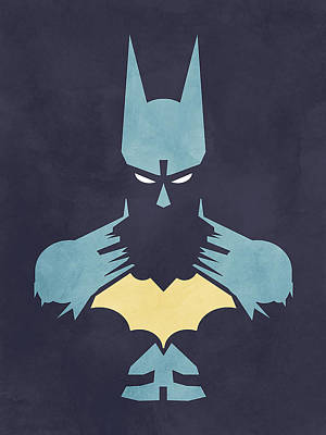 Batman Poster by Jason Longstreet