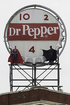 Batman Vs Superman 01 Poster by Teresa Mucha
