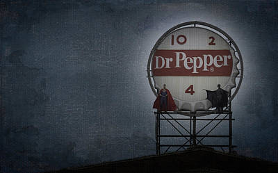 Batman Vs Superman 07 Poster by Teresa Mucha