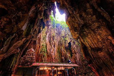 Batu Caves, Kuala Lumpur, Malaysia Poster by Nico Trinkhaus