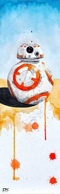 BB8 Poster by David Kraig