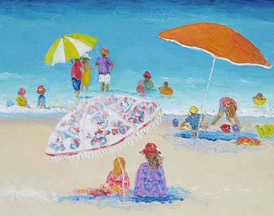 Beach Art - Beach Vacation Poster by Jan Matson