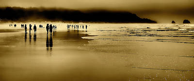 Beach Fog II Poster by David Patterson