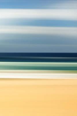 Beach Pastels Poster by Az Jackson