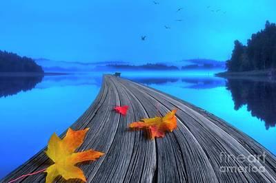 Beautiful Autumn Morning Poster by Veikko Suikkanen