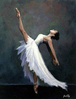 Beautiful Dancer Poster by Janet King