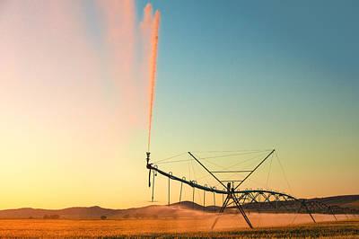 Beautiful Irrigation Poster by Todd Klassy