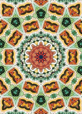 Beautiful Mandala 23 Poster by Lanjee Chee