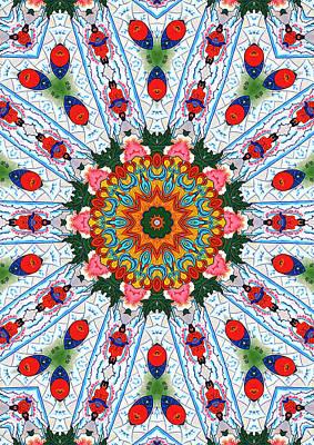 Beautiful Mandala 3 Poster by Lanjee Chee