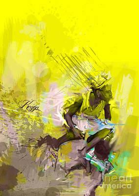 Beautiful Poverty  Poster by Kegya Art Gallery