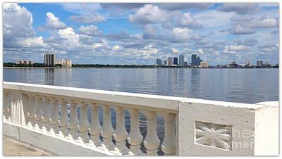 Beautiful Tampa Balustrade Poster by Carol Groenen