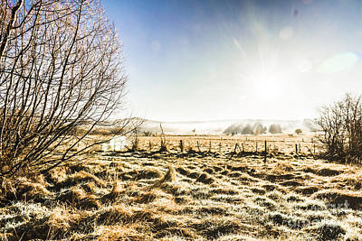 Beauty In Rural Winters Poster by Jorgo Photography - Wall Art Gallery