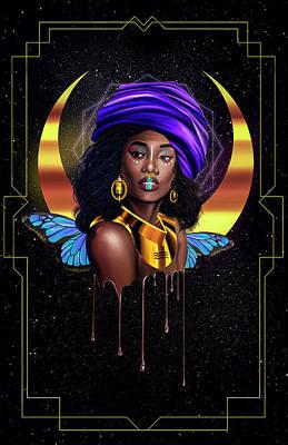 Beauty Queen Tia Poster by Kenal Louis