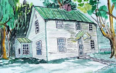 Becky's Homeplace Poster by Spencer Hudson