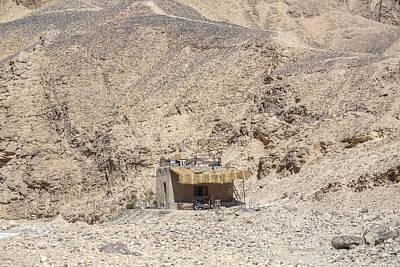 bedouin house in the desert in Egypt Poster by Joana Kruse