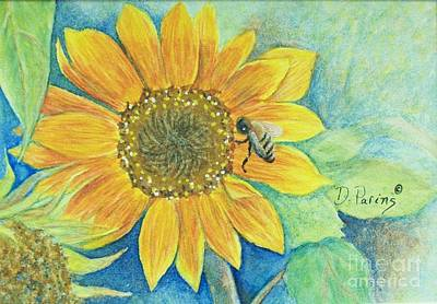 Bee Happy Poster by DParins Zich