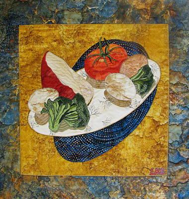 Before The Omelet Poster by Lynda K Boardman