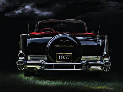 Bel Air Nights Poster by Douglas Pittman