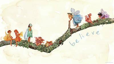 Believe Poster by Anne Geddes