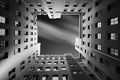 Berlin Backyards Poster by Carsten Velten