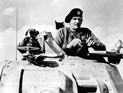 Bernard Law Montgomery Poster by War Is Hell Store