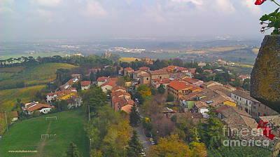 Bertinoro View -romagna Poster by Italian Art