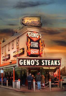 Best Steaks In Town Poster by Lori Deiter